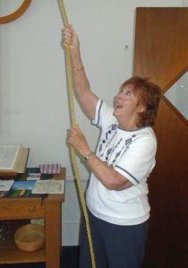 Bell Ringer Judy Nevieau